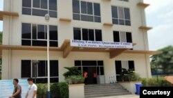 လႈိင္ၿမိဳ႕နယ္အတြင္းက Quarantine Center(ဓါတ္ပံု- NLD Hlaing Township )