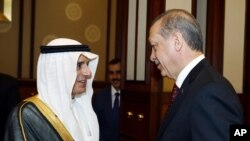 دیدار رجب طیب اردوغان با عادل الجبیر وزیر امور خارجه عربستان سعودی - آرشیو