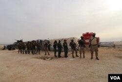 Operacija SDF-a u kampu Al Hol, mart 2021.