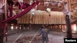 3일 시리아 북동부 쿠루드 지역인 하사케 시 외곽의 한 결혼식장에서 자살폭탄 공격이 발생했다.