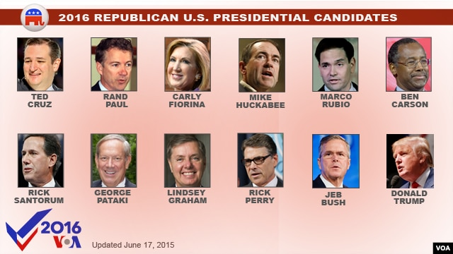 With Trump Addition, GOP Presidential Field at Even Dozen