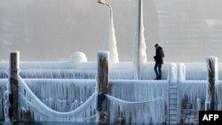 Німеччина потерпає від морозів. Фото: 28 лютого, 2018