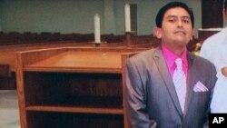 Foto de Isidro García, el presunto secuestrador, proporcionada por una vecina de éste.