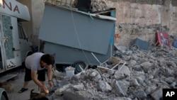 Tư liệu: Động đất ở đảo Kos, Hy lạp, ngày 22/7/2017.
