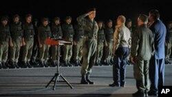 Владимир Путин на военно-морской базе в Новороссийске, Россия. 17 сентября 2012 года