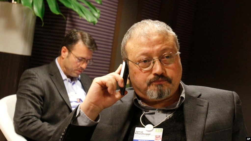 အသတ္္ခံရတဲ့ ေဆာ္ဒီသတင္းေထာက္ Khashoggi