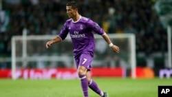 L'attaquant portugais du Real Madrid Cristiano Ronaldo, 22 novembre 2016.