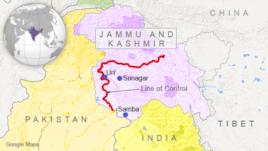 Samba, Srinagar, Uri, Kashmir