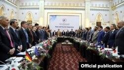 Kobul anjumanida 27 davlat va xalqaro tashkilotlar vakillari qatnashmoqda.