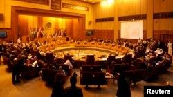 Встреча министров иностранных дел Лиги арабских государств. Каир, Египет. 1 сентября 2013 г.
