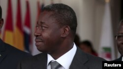 Shugaban Togo, Faure Gnassingbe yayin taron ECOWAS a 2015. REUTERS.