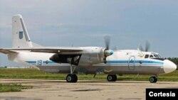 hình ảnh một chiếc AN-26, giống máy bay bị rơi ở Cuba (ảnh tư liệu)