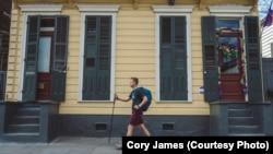 National Parks traveler Mikah Meyer enjoyed a walk through New Orleans' historic French Quarter.