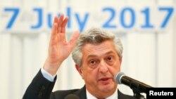 UNHCR ဒုကၡသည္မ်ားဆိုင္ရာ ကုလသမဂၢမဟာမင္းႀကီး Filippo Grandi ရဲ႕ သတင္းစာရွင္းလင္းပဲြ (ဇူလိုင္ ၇-၂၀၁၇)