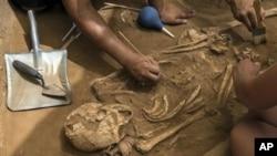 Les découvertes ont été faites sur deux couches archéologiques, l'une datée de 2,4 millions d'années et la seconde de 1,9 millions d'années.( Archives)