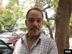 Like many Egyptians, Said Mohamed Mazen believes transgender surgeries are sinful, but says he is also willing to consider that it may be a medical disorder, in Cairo, May 17, 2016. (H. Elrasam/VOA)