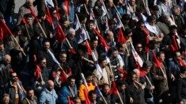 Protesti zbog mera štednje u Atini, 20. februar, 2013.