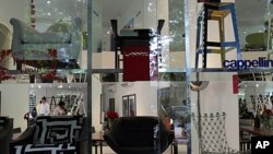 The Poltrona Frau Showroom in Mumbai, India is the first showroom in India of the iconic Italian designer, (File).