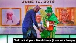 Le président Muhammadu Buhari a annoncé que la journée de la démocratie, jusqu'ici célébrée le 29 mai de chaque année, sera désormais observée le 12 juin à partir de 2019 au Nigeria.