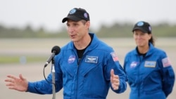 Quiz - Astronauts Arrive in Florida to Prepare for Weekend Launch