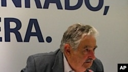 """José """"Pepe"""" Mujica, presidential candidate of the Frente Amplio party."""