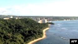 Đảo Guam nơi có các căn cứ quân sự của Hoa Kỳ ở Thái bình dương