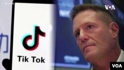 凱文梅耶爾出任TikTok行政總裁的照片。