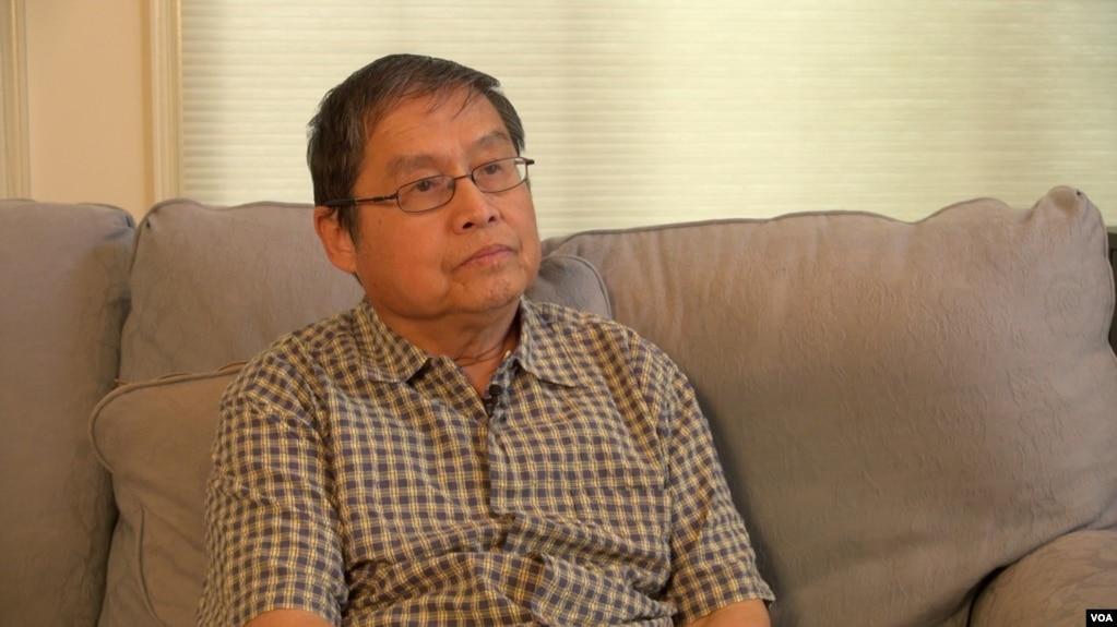 苏晓康六四事件25周年前接受美国之音专访。