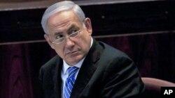 以色列总理内塔尼亚胡 (资料照片)