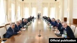 Nazirlər Kabinetinin iclası