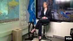 La embajadora de EE.UU. en la ONU, conversa desde el organismo internacional con la Voz de América, sobre la crisis en Ucrania.