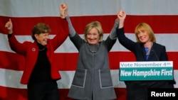 یک کمپین انتخاباتی با حضور هیلاری کلینتون