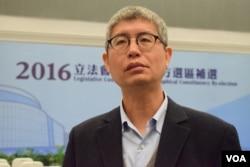 香港中文大學政治與行政學系副教授馬嶽。(美國之音湯惠芸攝)