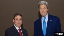 La reunión entre Kerry y Rodríguez se llevará a cabo después de la reapertura de la embajada de Cuba en Washington.