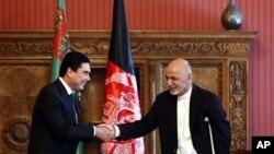 در هشت ماه گذشته این دومین سفر رئیس جمهورغنی به ترکمنستان است