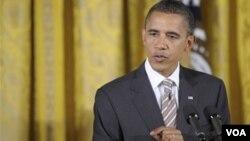 """El presidente Obama dijo que Estados Unidos sigue """"queriendo explorar un cambio en las relaciones"""" con Cuba."""