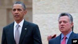 Барак Обама и король Абдалла