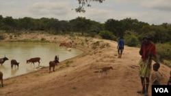 Angola Namibe seca