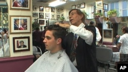 After 47 years of being Diego D'Ambrosio's professional home, a stretch of the Dupont Circle street in front of his salon was renamed for him.