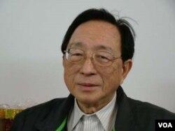 紐約大學政治學教授熊玠 (美國之音宋德成拍攝)