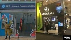 Agencia do BPC e stand da Endiama feira INDABA 2016