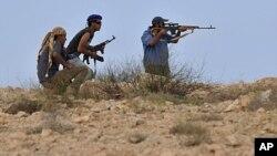 تلاش برای تصرف شهر سیرت در لیبیا