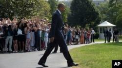 El presidente Barack Obama inició un viaje a Asia, el último de su presidencia a esa región del mundo.