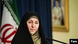 مرضیه افخم، سخنگوی وزارت خارجه ایران