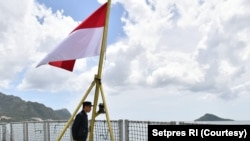 Presiden Joko Widodo bertolak ke Natuna, (8/1), pasca adanya insiden penangkapan ikan secara ilegal oleh nelayan China