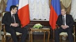 ملاقات نخست وزیران فرانسه و روسیه