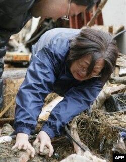 Yaponiyada minglab odam bedarak ketgan, qidiruv ishlari sust