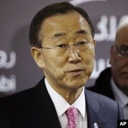 بان کی مون سوریا به ئهنجامدانی تاوانی دژی مرۆڤایهتی تاوانباردهکات