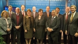 12 of the 14 U.S. Ambassadors & Chiefs of Mission to Western Hemisphere countries visit VOA