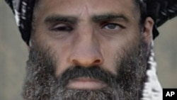 FILE - Taliban founder Mullah Omar